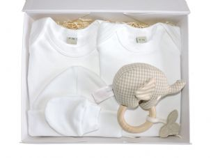 Jackanory Neutral Baby Gift Box